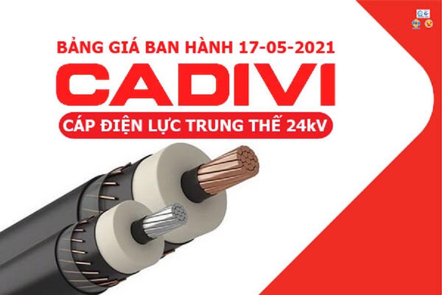 Mua Cap Trung The Cadivi Gia Tot Tai Ha Noi Hinh2